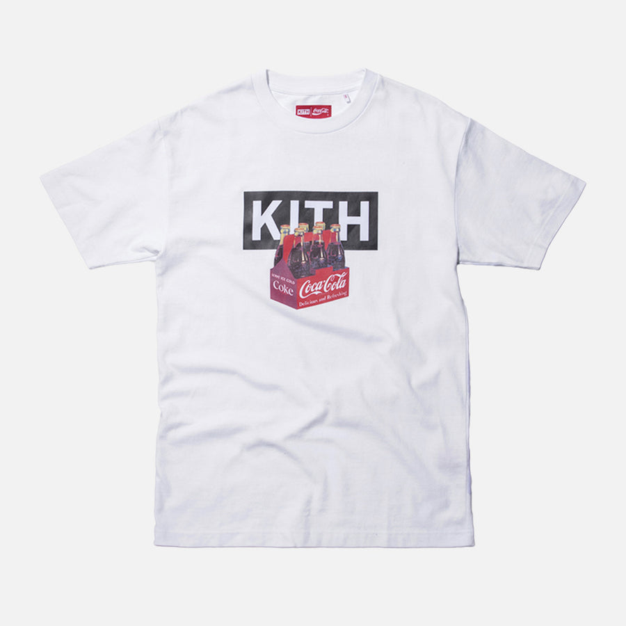 Kith x Coca-Cola Bottle Tee - White
