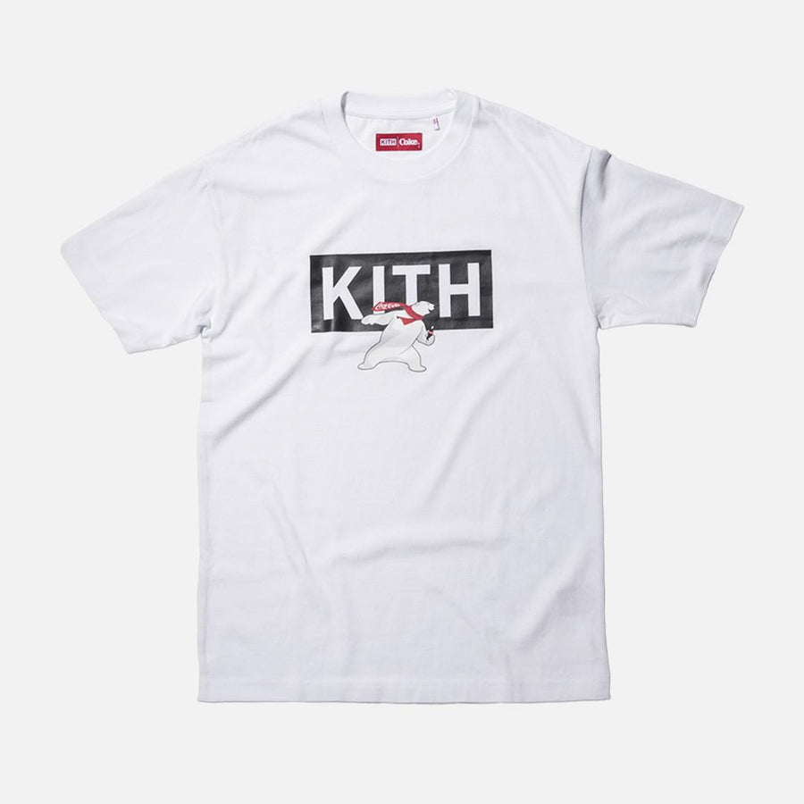 Kith x Coca-Cola Polar Bear Tee - White