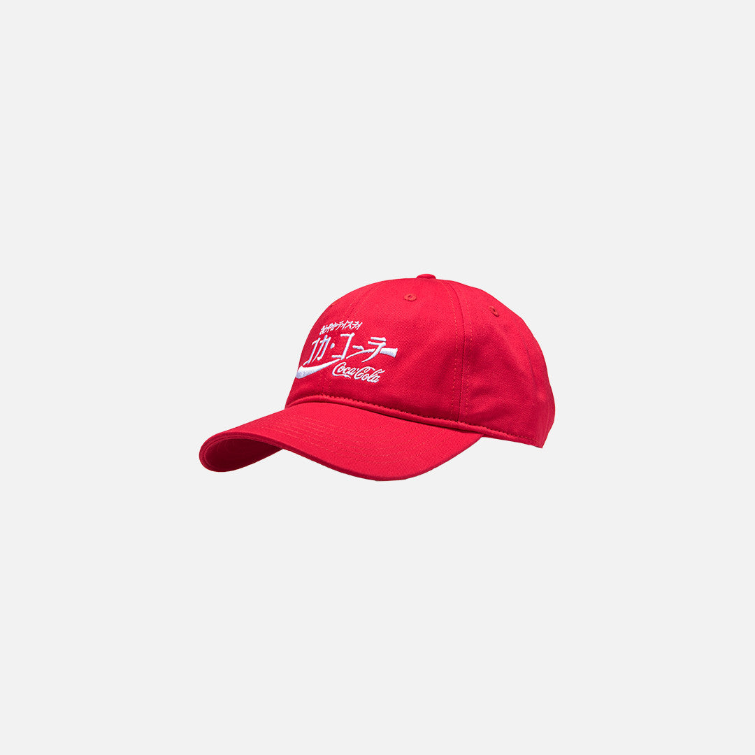 Kith x Coca-Cola Japan Cap - Red
