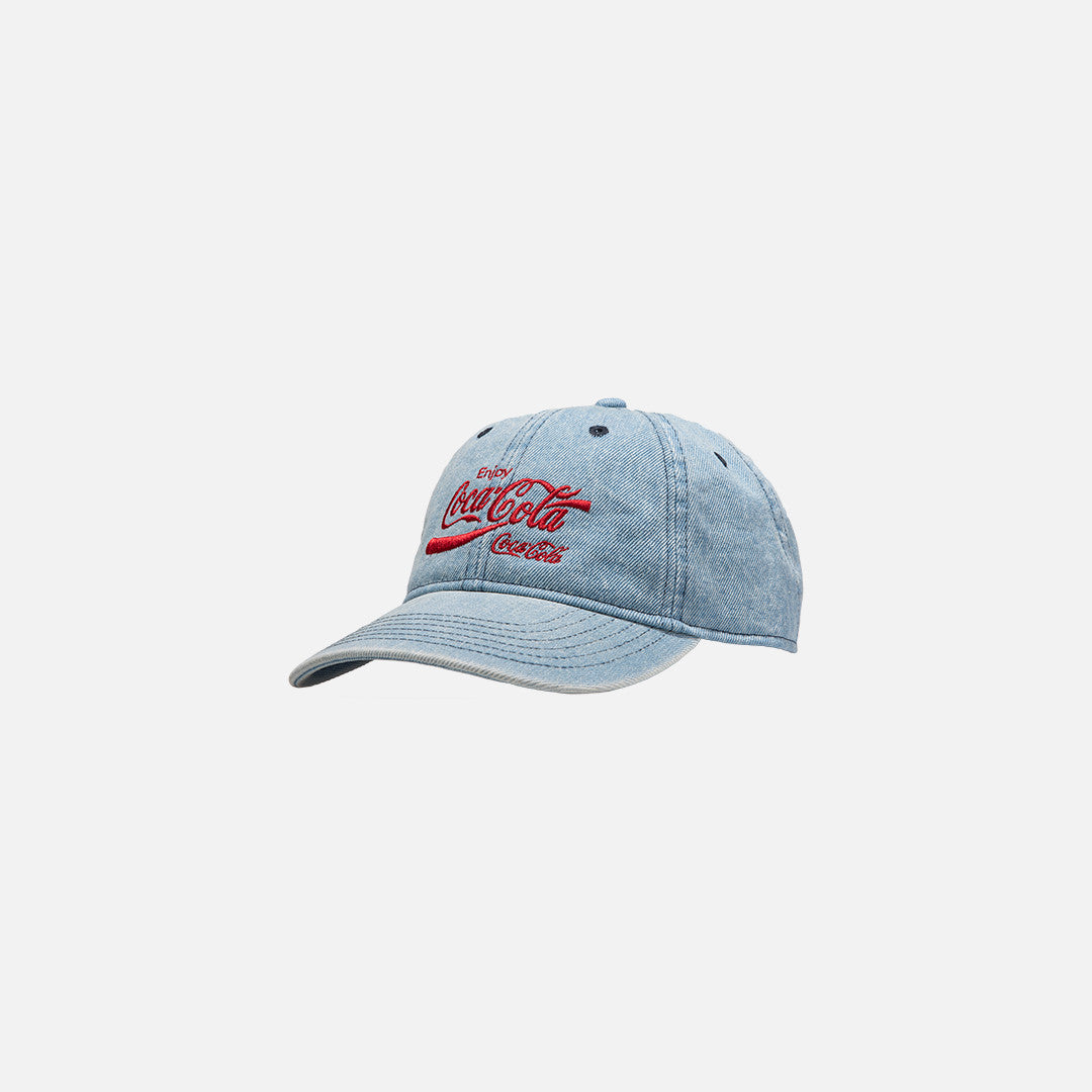 Kith x Coca-Cola USA Cap - Light Blue