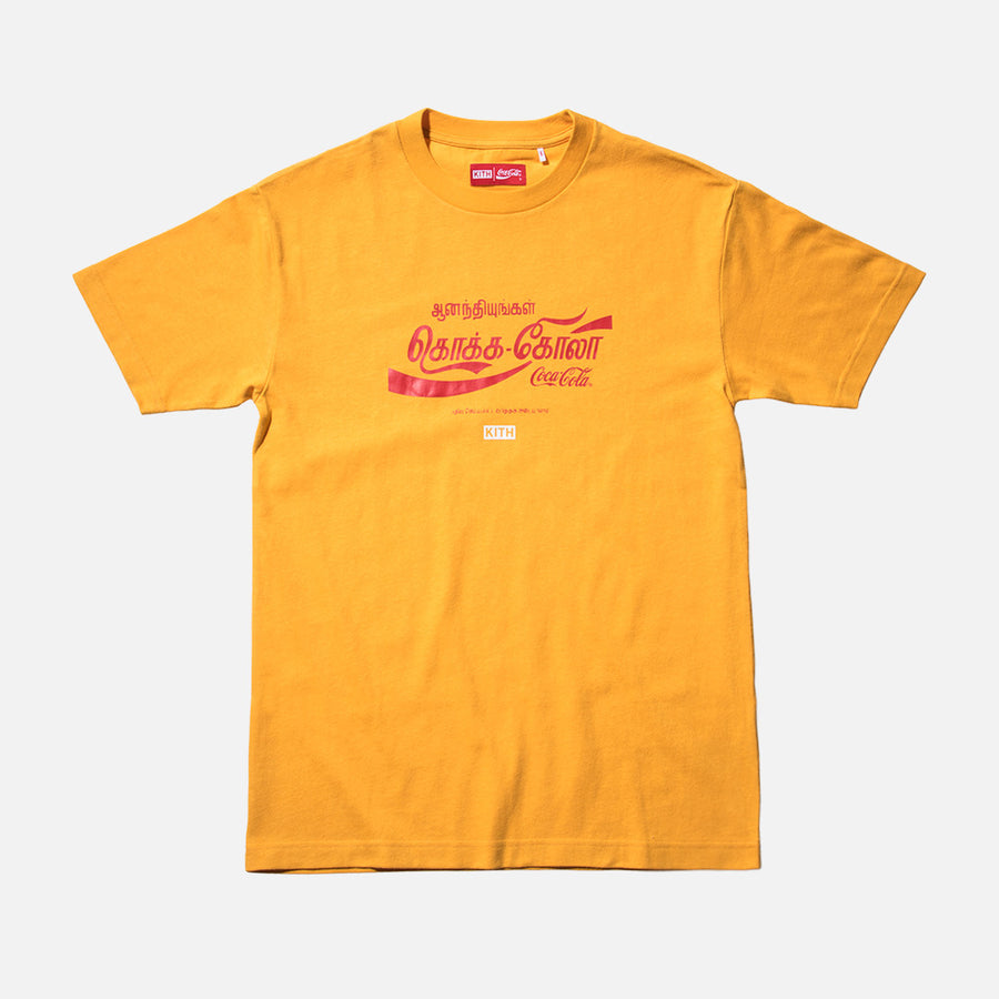 Kith x Coca-Cola Sri Lanka Tee - Yellow