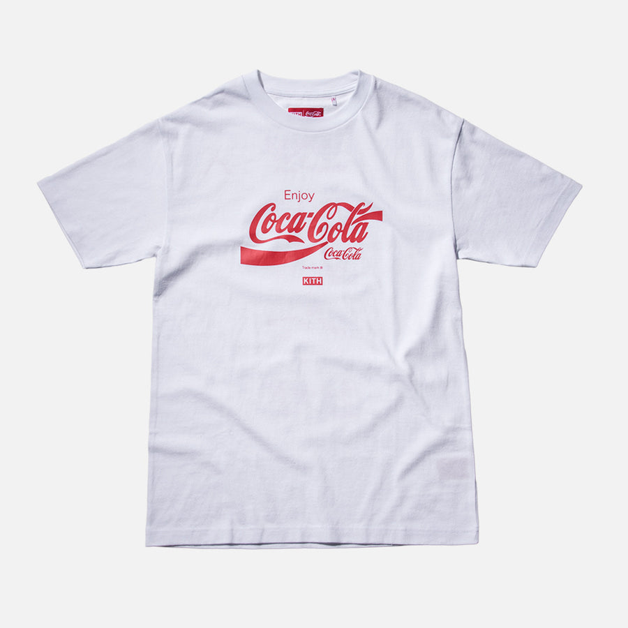 Kith x Coca-Cola USA Tee - White