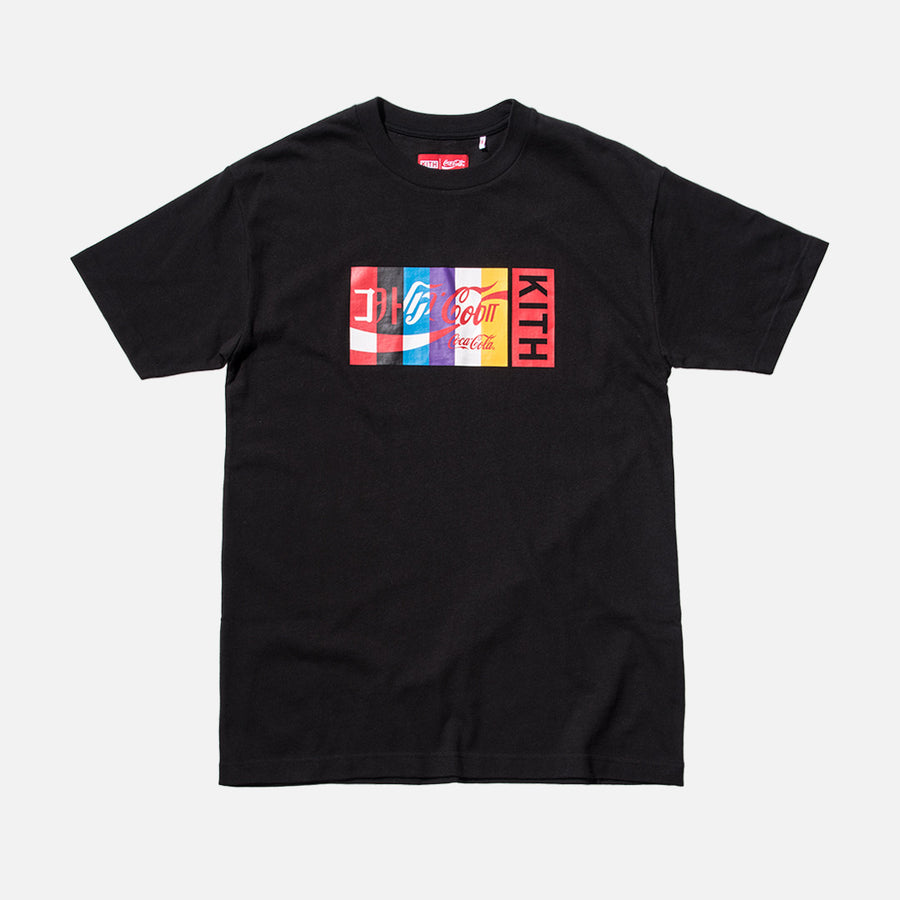 Kith x Coca-Cola International Tee - Black
