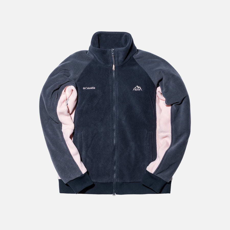 Kith x Columbia Sportswear Core Fleece Jacket - Abyss