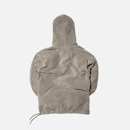 Kith x Columbia Sportswear Core Fleece Hoodie - Stone Green