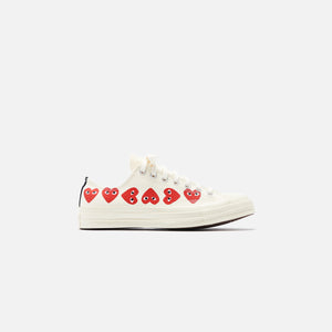 Converse x Comme des Garçons CDG Play Chuck Taylor Low - Off White