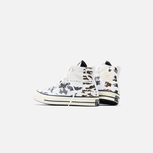 Converse Chuck 70 Blocked Camo - White / Carbon Grey / Egret