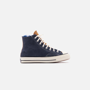 Converse Chuck 70 High - Navy Blue / Baby Pink / Egret Image 1