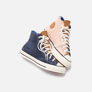 Converse Chuck 70 High - Navy Blue / Baby Pink / Egret Image 2