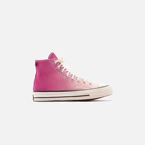 Converse Primaloft Chuck 70 High - Rose Maroon / Naples Yellow / Egret