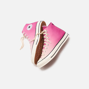 Converse Primaloft Chuck 70 High - Rose Maroon / Naples Yellow / Egret Image 2