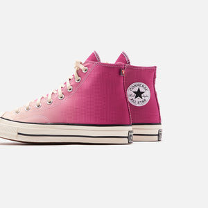 Converse Primaloft Chuck 70 High - Rose Maroon / Naples Yellow / Egret Image 5