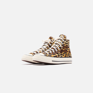Converse x Invincible x Wacko Maria Chuck 70 High - Brown / Egret / Black Image 3
