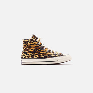 Converse x Invincible x Wacko Maria Chuck 70 High - Brown / Egret / Black Image 1