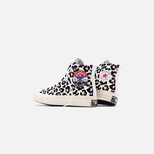 Converse Chuck 70 Logo Play High - White / Black / Desert Ore