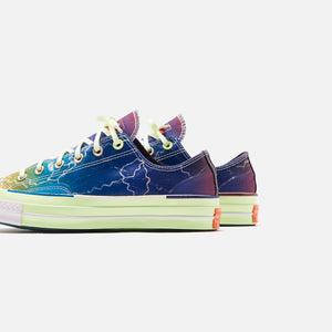 Converse x Pigalle Chuck 70 - Green / Blue / Purple Image 4