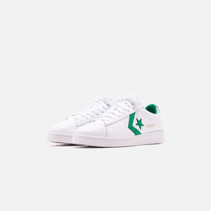 Converse Pro Leather OG Ox - White / Green Image 3