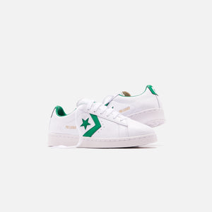 Converse Pro Leather OG Ox - White / Green Image 2