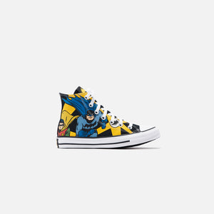 Converse x Batman Grade School CTAS High - Black / White / Lemon Chrome