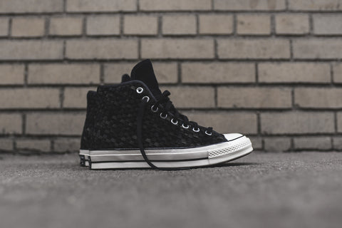 Converse Chuck Taylor All Star Hi 1970 Woven - Black