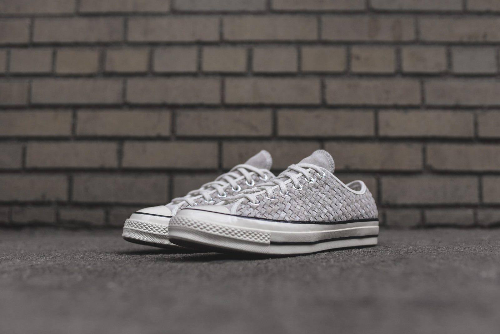 Converse Chuck Taylor All Star Ox 1970 Woven - Light Grey