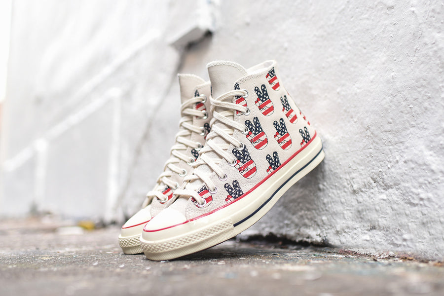 Converse Chuck Taylor All Star High '70s Election Day - White
