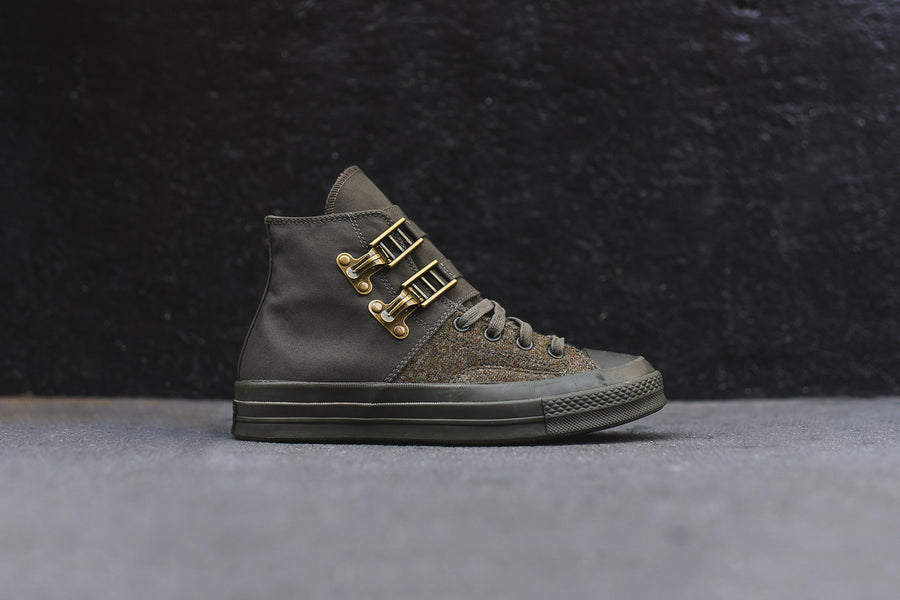 Converse x Nigel Cabourn Chuck Taylor All Star High - Ivy Green / Orange