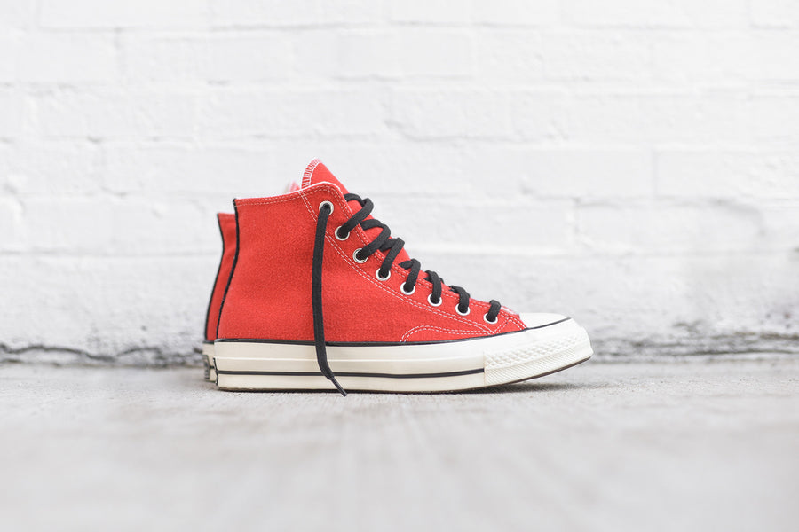 Converse Chuck Taylor All Star Hi 1970 Team - Poppy Red / Egret