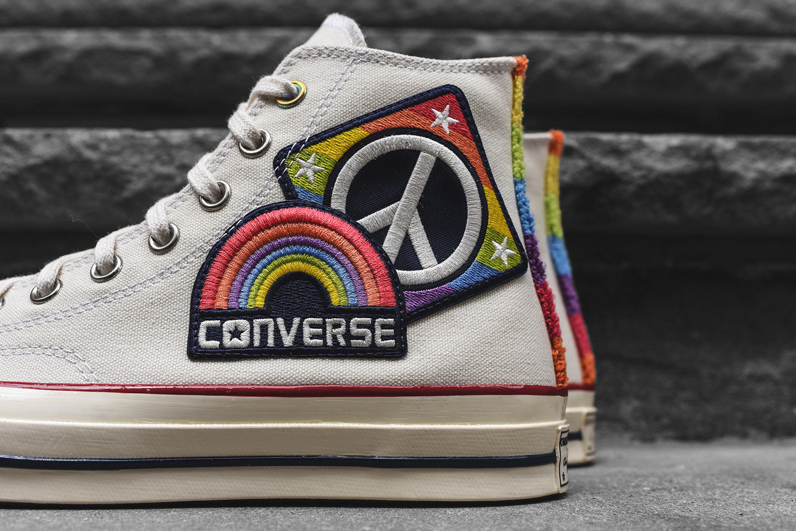 Converse Chuck Taylor All Star High '70 Pride QS - White / Multi