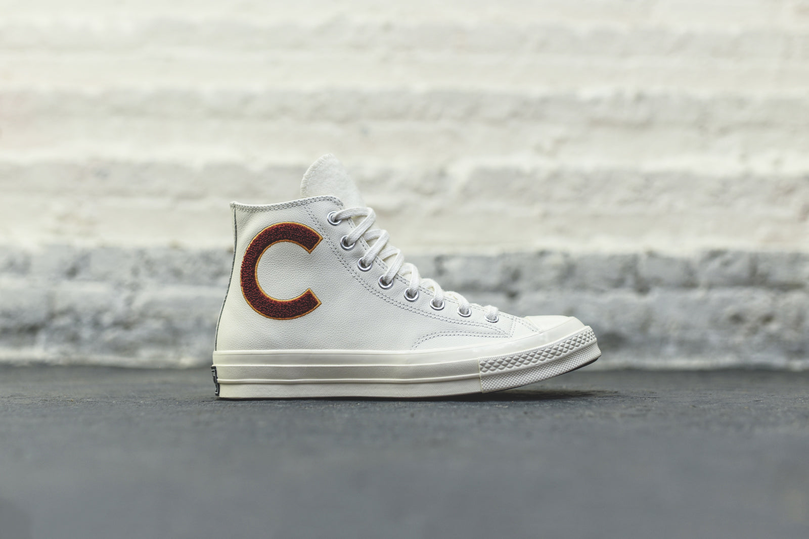 Converse Chuck '70 High - White / Burgundy