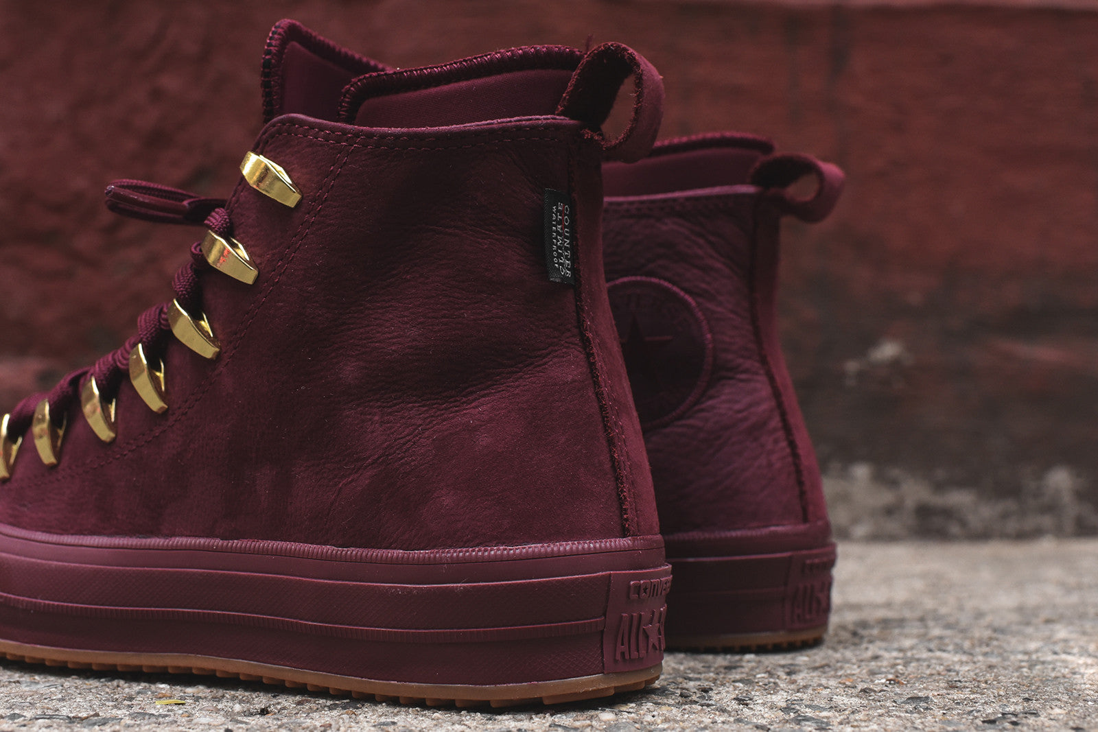 Converse WMNS Chuck Taylor All Star II Boot - Burgundy