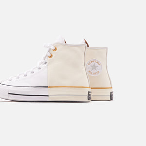 Converse Sunblocked Chuck 70 High - White / Egret / Mouse