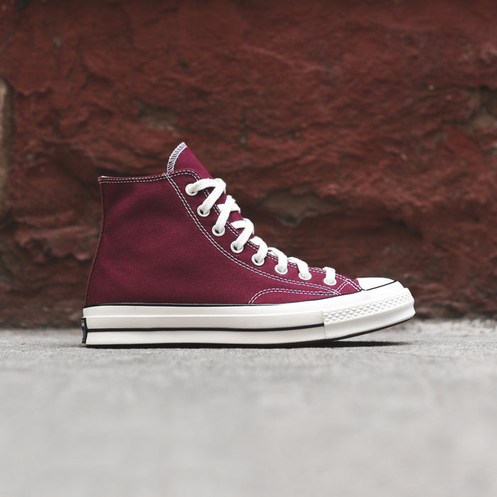 Converse Chuck Taylor 70s High - Burgundy / White