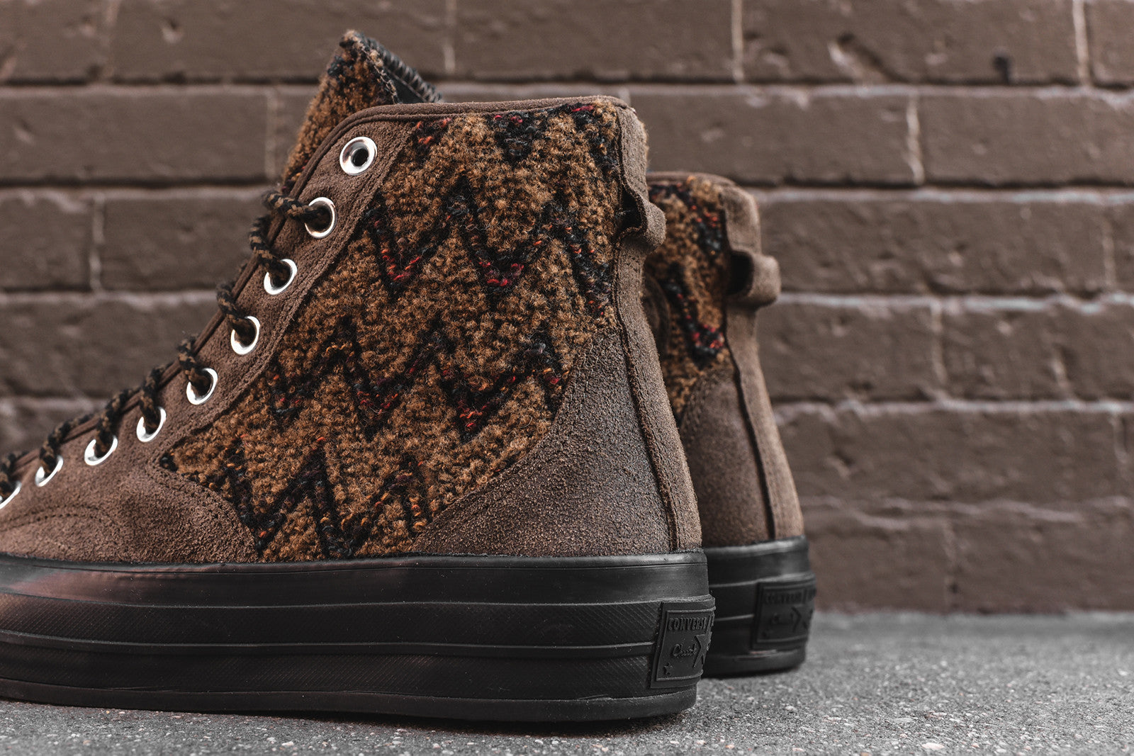 Converse x Missoni Chuck Taylor All-Star High 1970 Hiker - Olive / Brown
