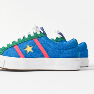 2d0153880a73 Converse Academy Ox - Totally Blue   Racer Pink   White