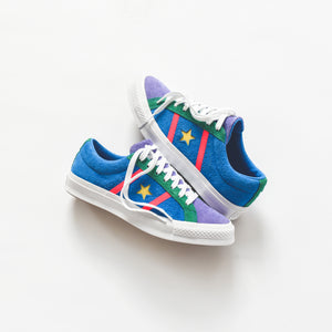 Converse Academy Ox Totally Blue Racer Pink White – Kith