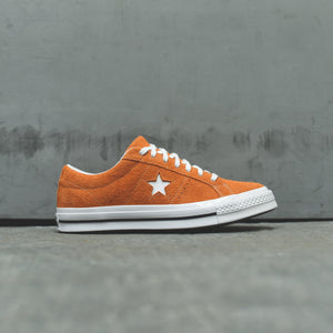 Converse One Star - Mandarin / White
