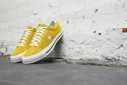 8d9377392824 Converse One Star Ox - Mineral Yellow   White   Black – Kith