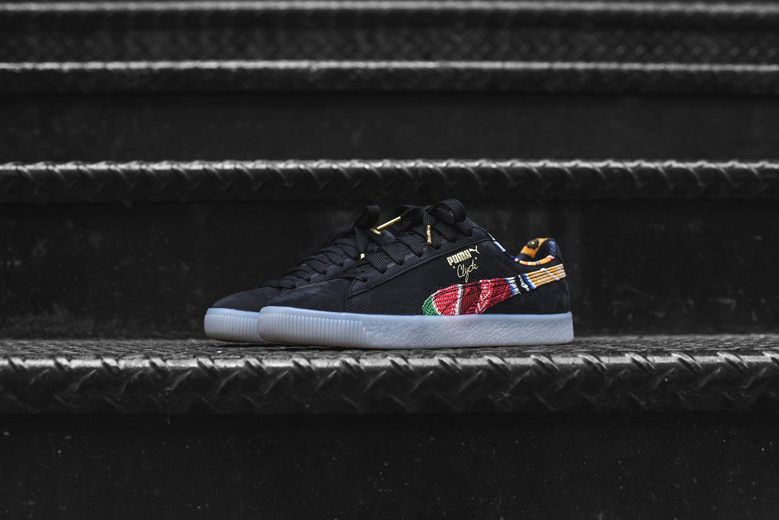 Puma x Coogi Clyde FS - Black / Team Gold