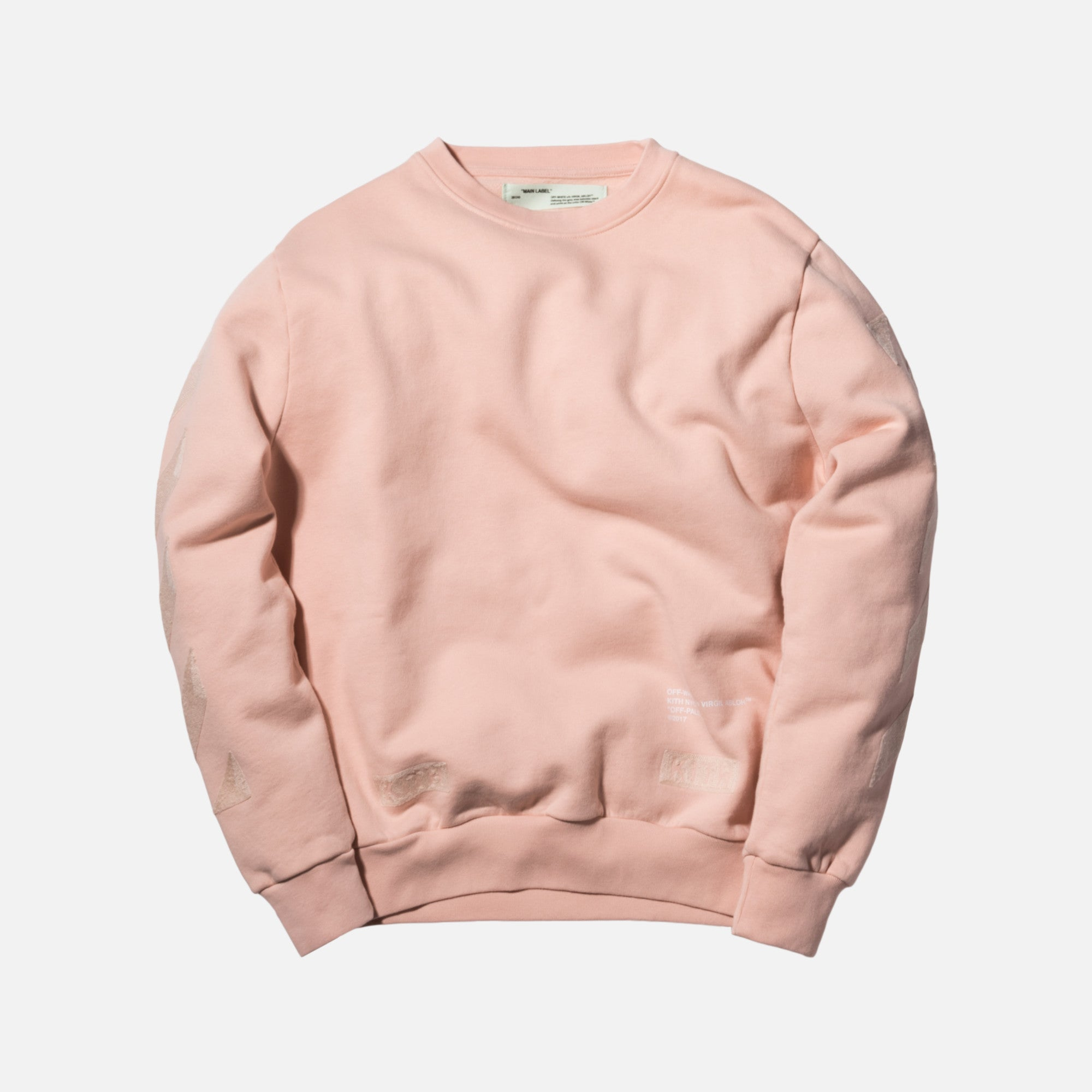 Kith x Off-White Cornely Crewneck - Soft Pink