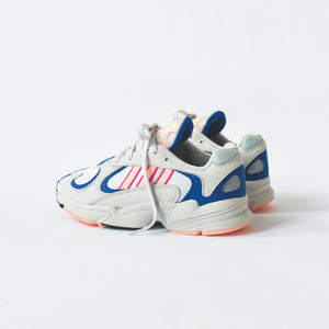 adidas Originals Yung 1 - Crystal White / Clear Orange / Collegiate Royal