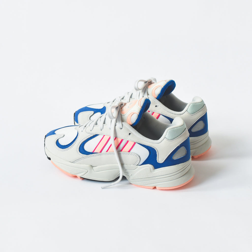 10037ee2049 adidas Originals Yung 1 - Crystal White / Clear Orange / Collegiate Royal