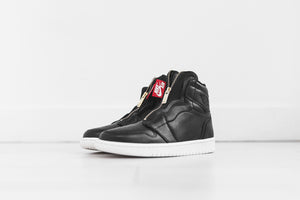 Nike WMNS Air Jordan 1 High Zip - Black / Sail