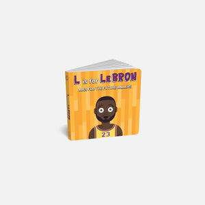 Diaper Book Club L is for LeBron