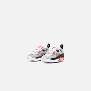Nike Crib Air Max 90 QS - White / Black / Cool Grey / Radiant Red