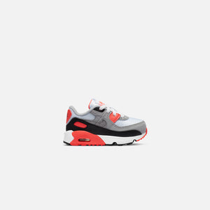 Nike Toddler Air Max 90 QS - White / Black / Cool Grey / Radiant Red