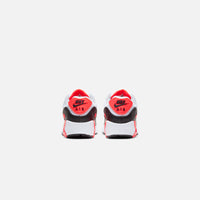 Nike Grade School Air Max 90 QS - White / Black / Cool Grey / Radiant Red Thumbnail 4
