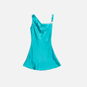 Danielle Guizio Hook Closure Dress - Turquoise