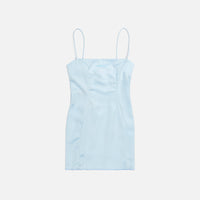 Danielle Guizio Mini Dress - Corydalis Blue Thumbnail 1