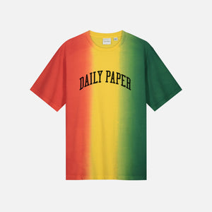 Daily Paper Rebo Tee - Red / Yellow / Green